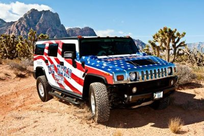 Grand Canyon West Hummer