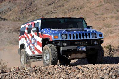 Off Road Hummer at Grand Canyon West Rim