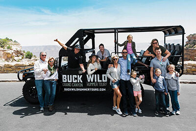 Grand Canyon South Rim Hummer Adventure with Buck wild 400 x 270
