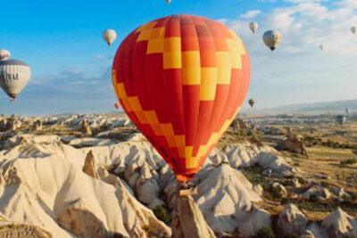 Hot Air Balloon Rising 400 x 270