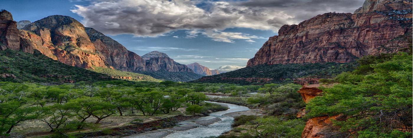 Zion Park Mountains