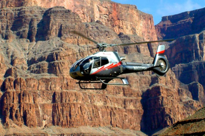 Grand Canyon West Rim Helicopter Soaring