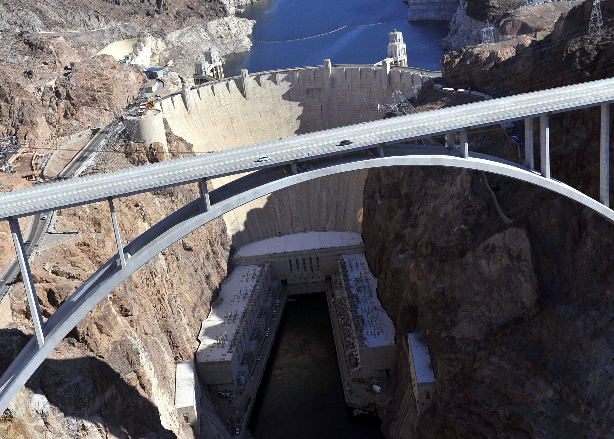 Hoover Dam and Memorial Bridge