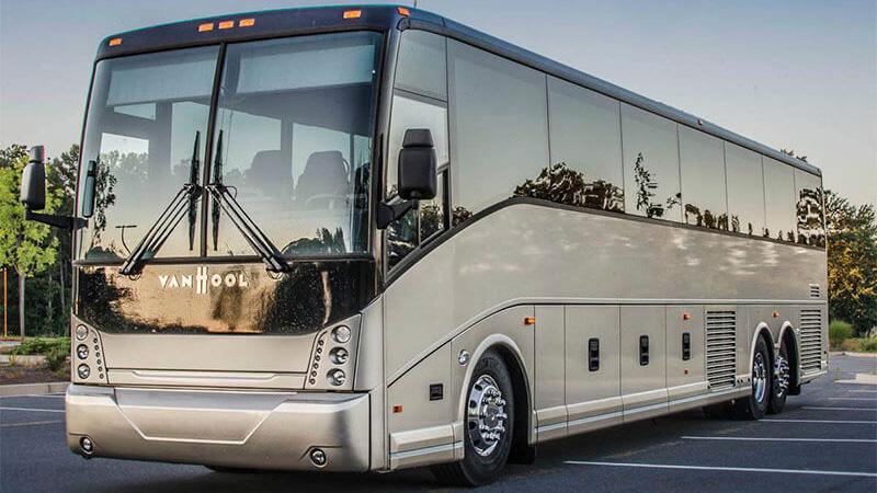 Van Hool Tour Bus