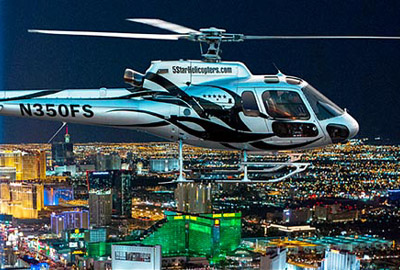 5 Star Helicopter Las Vegas Strip Night Flight