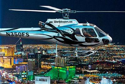 5 Star Helicopter Las Vegas Strip Night Flight