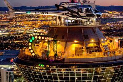 5 Star Helicopter Las Vegas Strip Night Flight You Drive