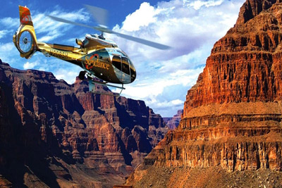 Grand Canyon West Rim Helicopter Fly Over