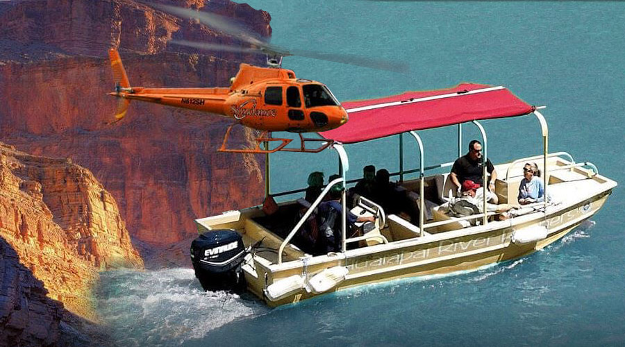 Grand Canyon West Voyager Combination Tours