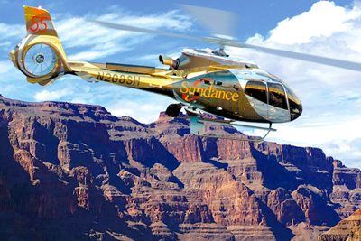 Sundance Helicopter over Grand Canyon