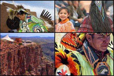 Grand Canyon Hualapai Indians