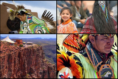 Grand Canyon Hualapai Indians
