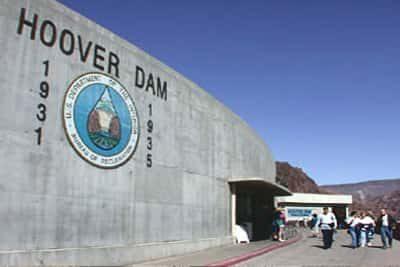 Hoover Dam Entrance