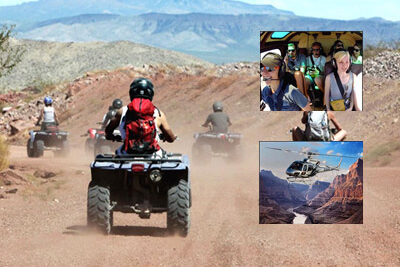 5 Star Helicopter Grand Canyon and ATV Adventure
