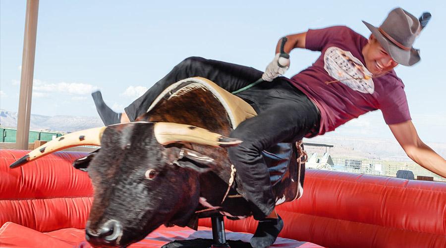 Bull Riding at Hualapai Ranch