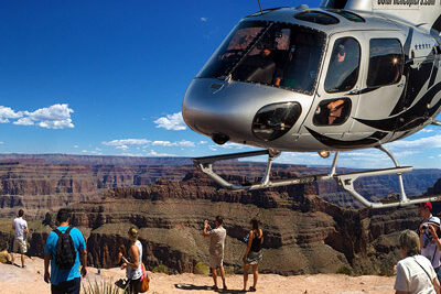 Grand Canyon Eagle Point Helicopter Landing
