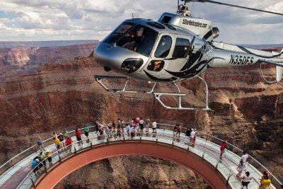 Grand Canyon Skywalk Helicopter
