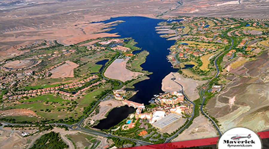 Aerial View of Lake Las Vegas