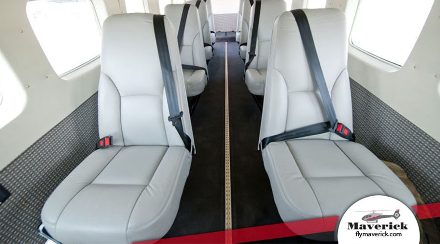 Interior view of Cessna Grand Caravan