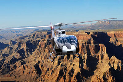 Maverick Helicopter Soaring Over The Grand Canyon 3