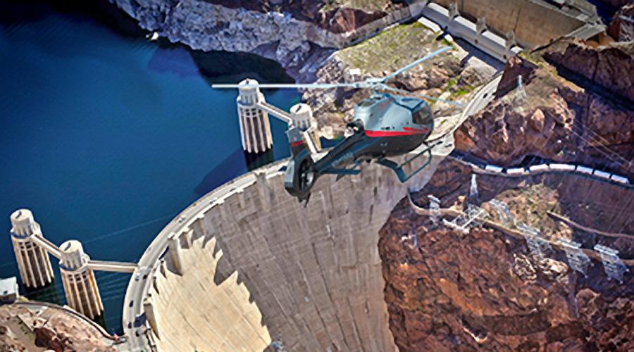 Maverick Over Hoover Dam