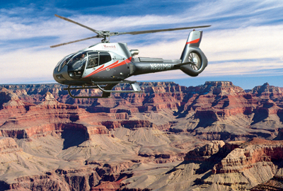 Maverick Soaring Over The Grand Canyon