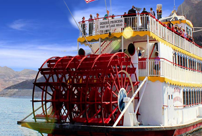 Desert Princess Paddle-Wheel Boat On Lake Mead