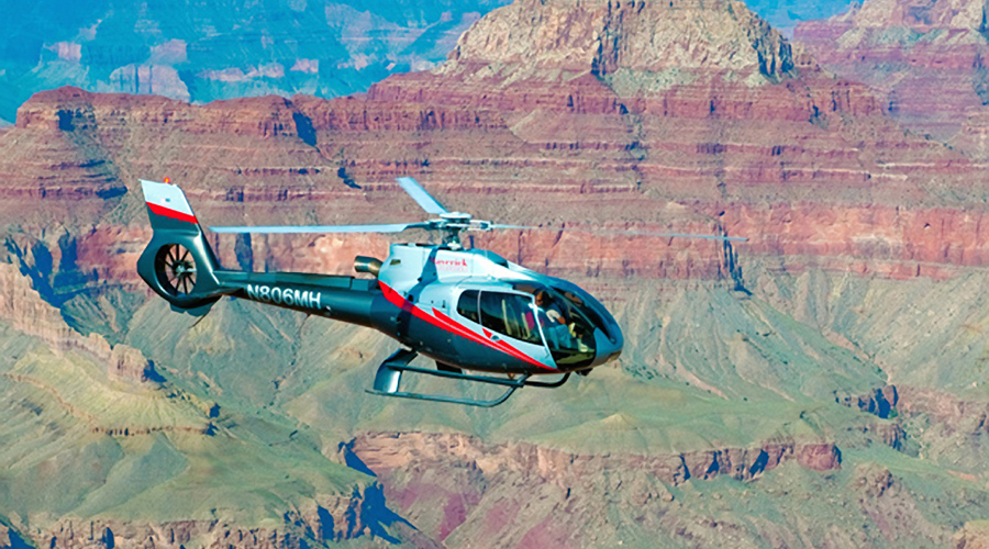ECO-Star Soaring Over Grand Canyon West Rim