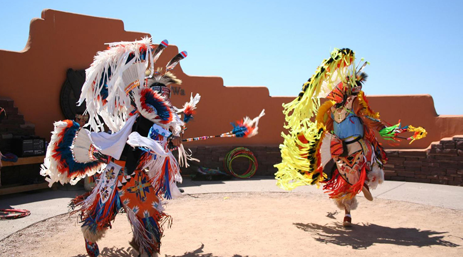 Full Dress Hualapai Indian Ceremonial Dance
