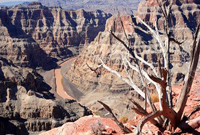 Grand Canyon West Rim Mountain Valley Views