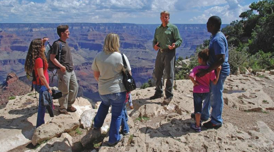 Grand Canyon West Rim Visitors with Guide 900 x 500
