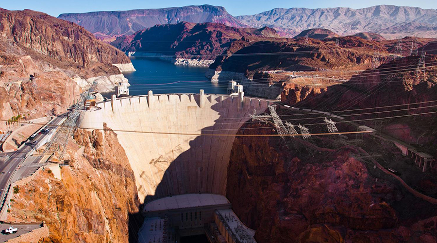 Hoover Dam Aerial View
