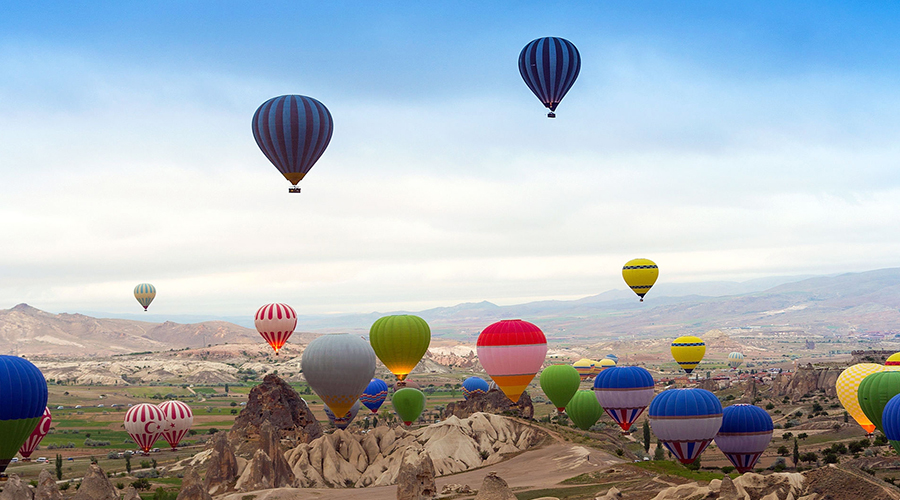 Hot Air Balloon Festival 3 900 x 500