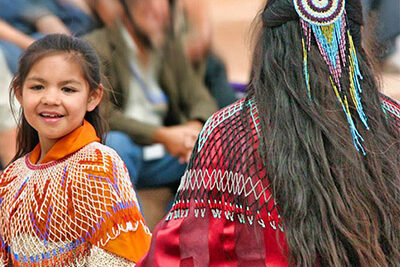 Hualapai Indian Children Playing