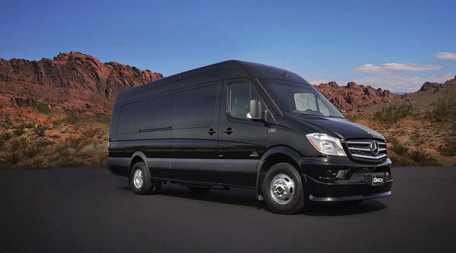 Mercedes Sprinter Luxury Limo Van