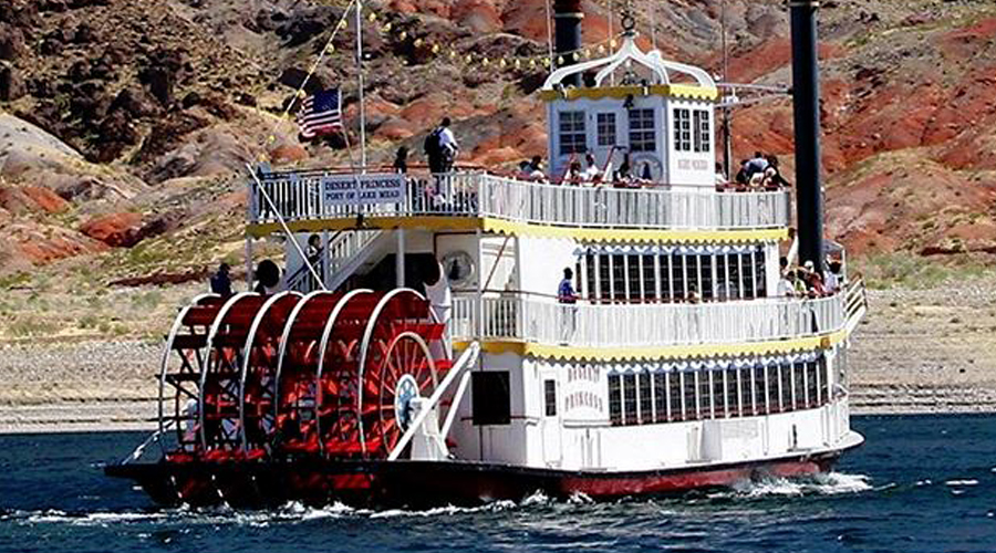 Desert Princess Paddle Wheel on Lake Mead