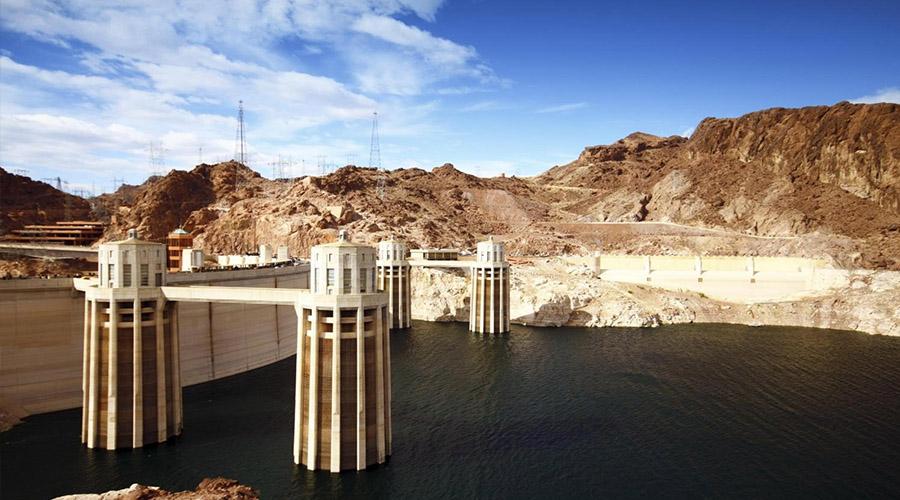 Hoover Dam Turbine Towers