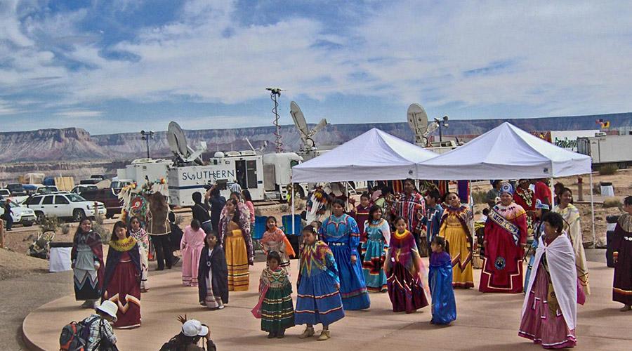 Hualapai Indians at Grand Canyon West Rim