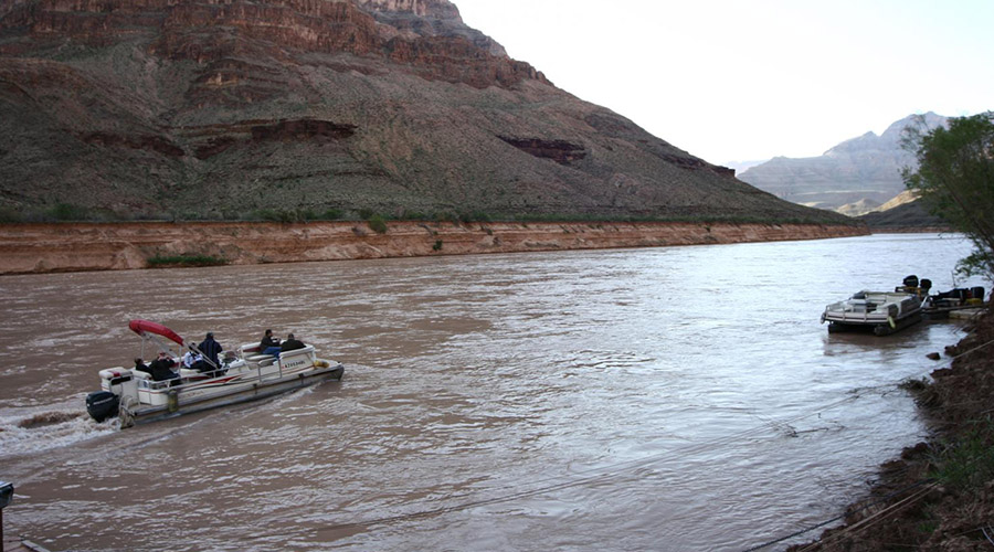 Pontoon Boat Ride on Colorado River