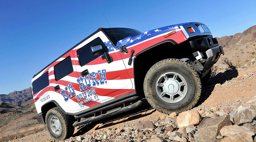 Big Horn Hummer Light Off Road Experience