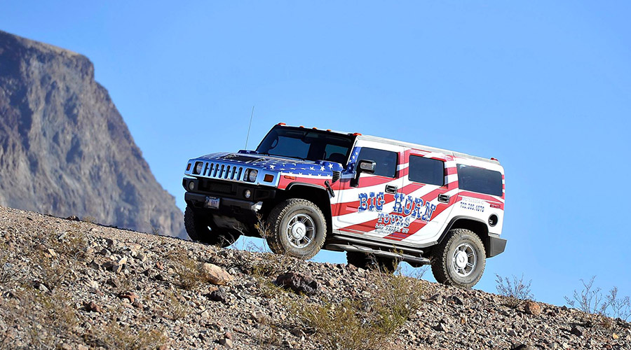 Big Horn Hummer Light Off Road in Grand Canyon