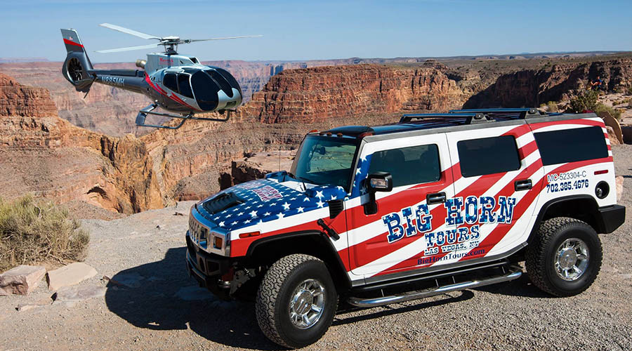 Big Horn Hummer and Helicopter Combo