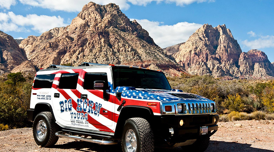 Big Horn Hummer at Grand Canyon