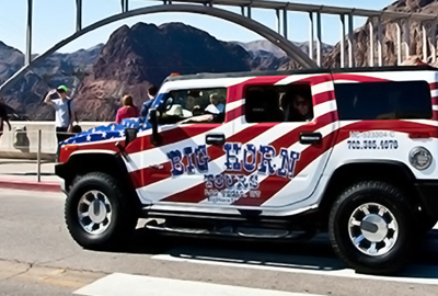 Big Horn Hummer on the Hoover Dam Tour