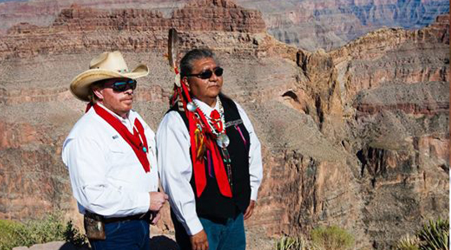 Bill of Big Horn Tours with Hualapai Indian Chief