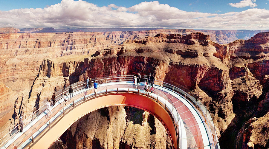 Grand Canyon Views from Skywalk