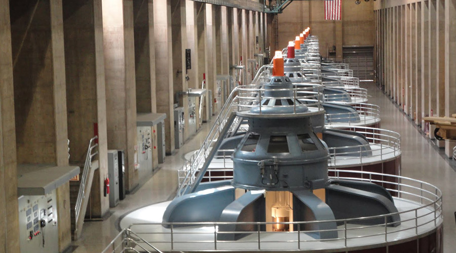 Hoover Dam Power Plant Generators