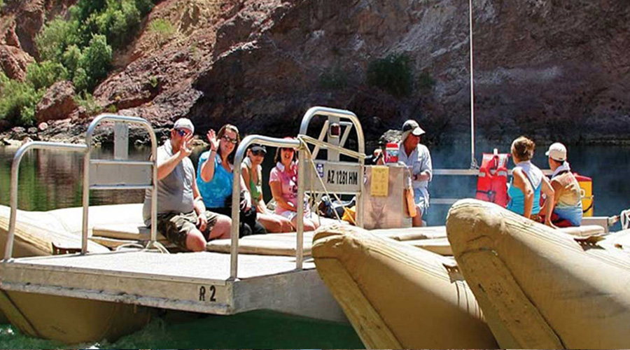 Hoover Dam Top to Bottom Raft Tour