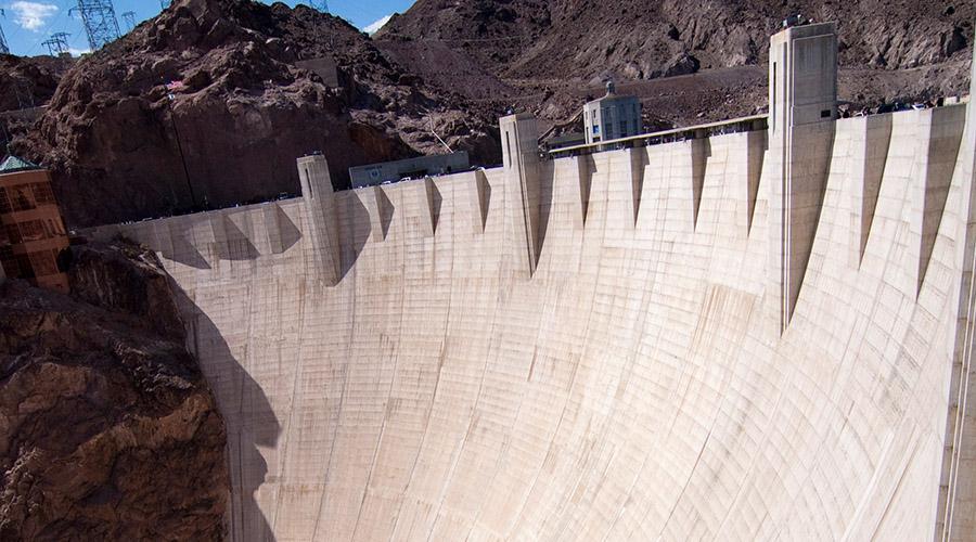 Hoover Dam Walls