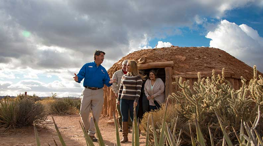 Hualapai Indian Dwelling at Grand Canyon West Rim